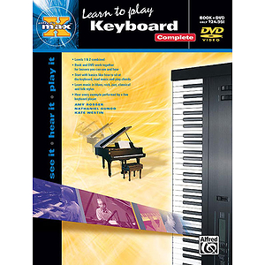 Alfred's MAX Keyboard Complete (DVD)