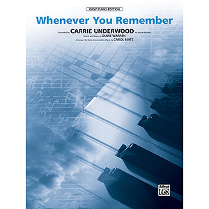 Carrie Underwood - Whenever You Remember