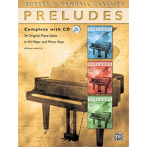 Preludes Complete with CD
