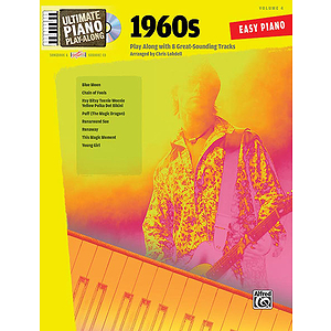 Ultimate Piano Play-Along, Volume 4: 1960s