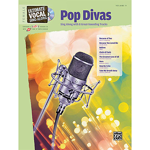Ultimate Vocal Sing-Along: Pop Divas (Female Voice)