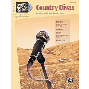 Ultimate Vocal Sing-Along: Country Divas (Female Voice)