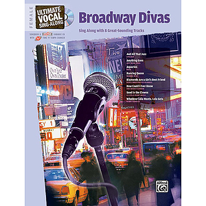 Ultimate Vocal Sing-Along: Broadway Divas (Female Voice)