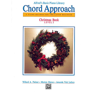 Alfred's Basic Piano - Chord Approach - Christmas Book Level 2