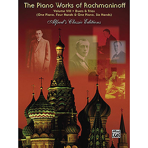 The Piano Works of Rachmaninoff, Volume VIII: Works for One Piano/Four Hands and One Piano/Six Hands