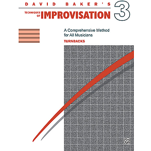 Techniques of Improvisation - Volume 3 (Turnbacks)