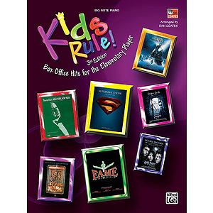 Kids Rule! (3rd Edition) (Box Office Hits for the Elementary Player)