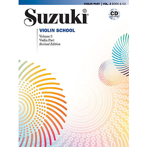 Suzuki Violin School Violin Part & CD, Volume 3