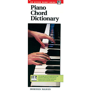 Piano Chord Dictionary (Handy Guide)