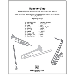 Summertime (from the musical Porgy and Bess)