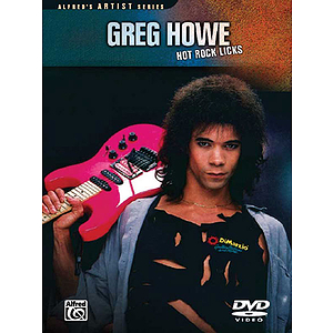 Greg Howe: Hot Rock Licks (DVD)