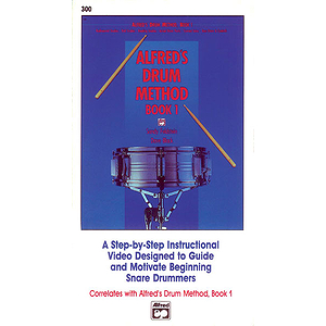 Alfred's Drum Method, Book 1 - VHS