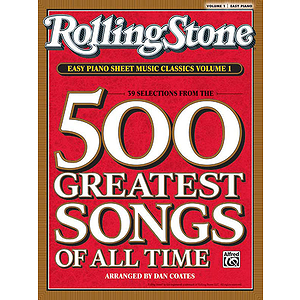 Rolling Stone Easy Piano Sheet Music Classics, Volume 1