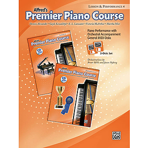 Premier Piano Course: GM Disk for Lesson and Performance, Level 4