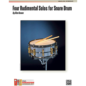 Four Rudimental Solos for Snare Drum