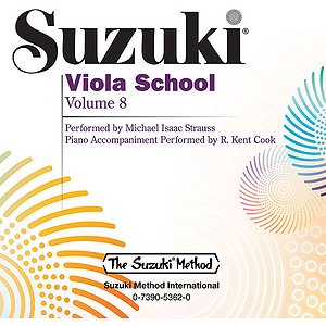 Suzuki Viola School CD, Volume 8