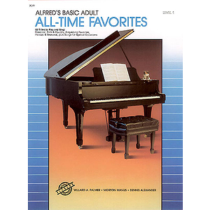 Alfred's Basic Adult Piano Course - All-Time Favorites (Level 1)