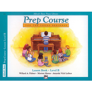 Alfred's Basic Piano Prep Course - Lesson Book Level B