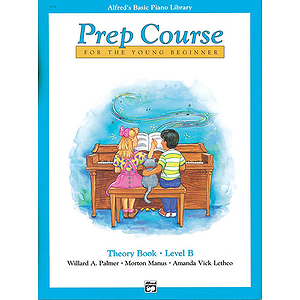 Alfred's Basic Piano Prep Course - Theory Book (Level B)