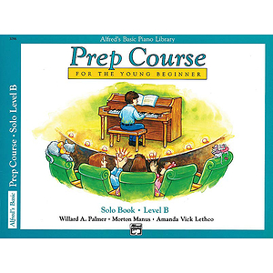 Alfred's Basic Piano Prep Course - Solo Book Level B