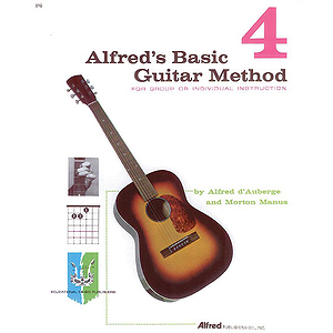 Alfred's Basic Guitar Method - Book 4 - Book Only