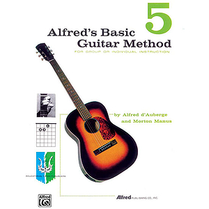 Alfred's Basic Guitar Method - Book 5 - Book Only