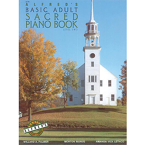 Alfred's Basic Adult Piano Course - Sacred Piano Book (Level Two)