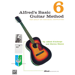 Alfred's Basic Guitar Method - Book 6 - Book Only