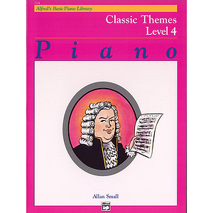 Alfred's Basic Piano Course - Classic Themes Level 4