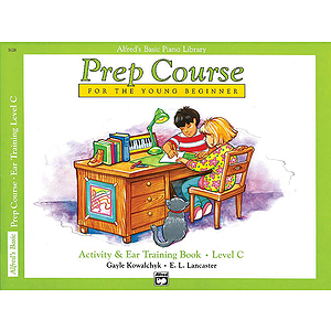 Alfred's Basic Piano Prep Course - Activity & Ear Training Book Level C