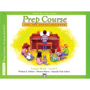 Alfred's Basic Piano Prep Course - Lesson Book Level C