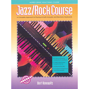 Alfred's Basic Adult Piano Course - Jazz/Rock Course - Book