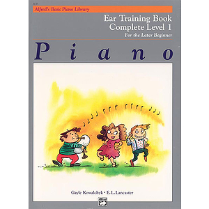Alfred's Basic Piano Course - Ear Training Book Complete Level 1 (1A/1B)