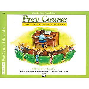 Alfred's Basic Piano Prep Course - Solo Book Level C