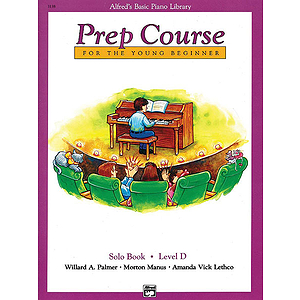 Alfred's Basic Piano Prep Course - Solo Book Level D