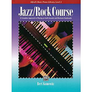 Alfred's Basic Jazz/Rock Course - Lesson Book Level 2