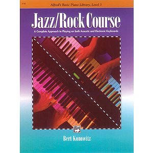 Alfred's Basic Jazz/Rock Course - Lesson Book Level 3
