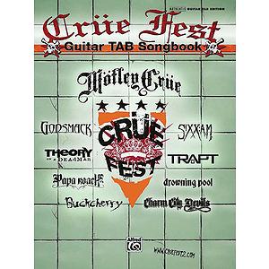 Crüe Fest Guitar TAB Songbook