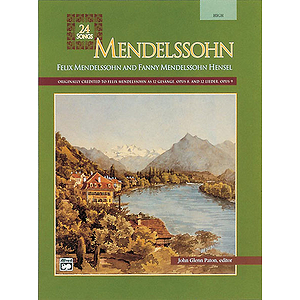Mendelssohn - 24 Songs (High)