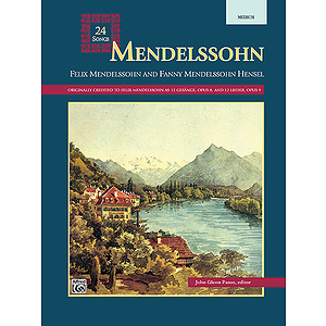 Mendelssohn - 24 Songs (Medium)