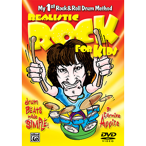 Realistic Rock for Kids (My 1st Rock & Roll Drum Method) (DVD)
