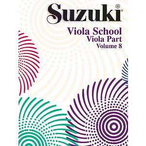 Suzuki Viola School Book Volume.8