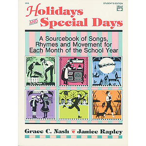 Holidays and Special Days - Student's Edition
