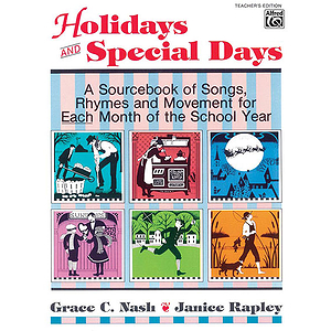 Holidays and Special Days - Teacher&#039;s Edition