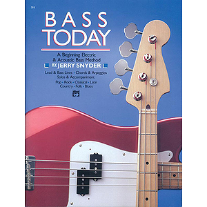 Bass Today - Book