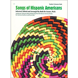 Songs of Hispanic Americans - Teacher's Book
