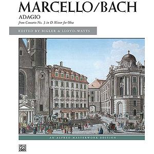 Marcello - Adagio From Concerto No. 3 in D Minor for Oboe - Solo Piano