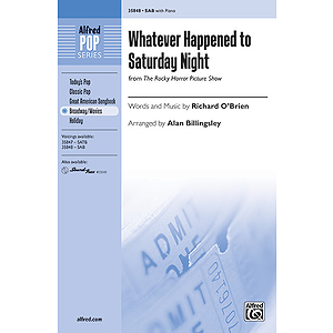 Whatever Happened to Saturday Night (from The Rocky Horror Picture Show)