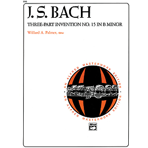 3-Part Invention #15 in B Minor