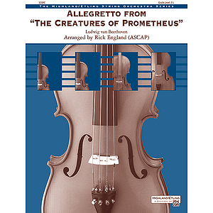 Allegretto from The Creatures of Prometheus